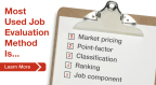 Market pricing now dominant method of job evaluation. (Graphic: Business Wire)