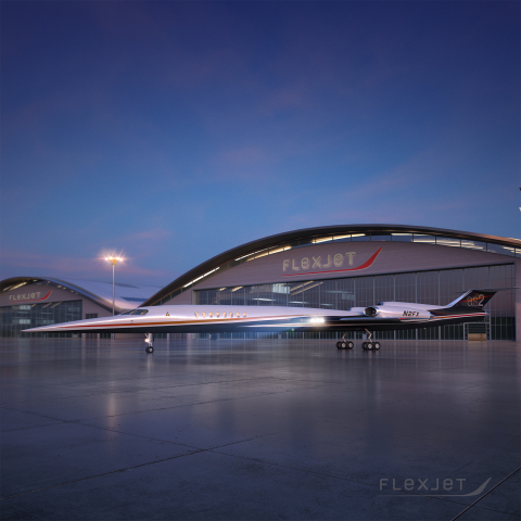 Flexjet has placed a firm order for 20 of Aerion Corp.'s AS2 supersonic business jets (Photo: Business Wire)