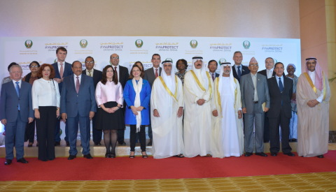 HH Sheikh Saif bin Zayed in a group photo with key guests at the event (Photo: ME NewsWire)