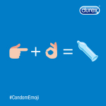 Emojis make it easier to say anything…Let's make the sex talk simpler and safer with an official #CondomEmoji! (Photo: Durex®)