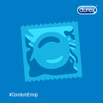 Keep it sexy, keep it simple, keep it safe! Agree? Support an official #CondomEmoji! (Photo: Durex®)
