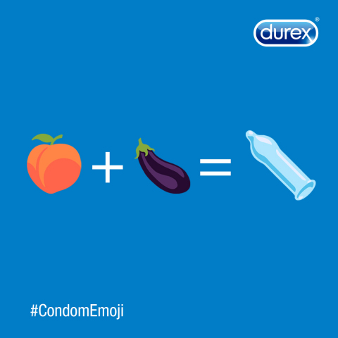 Let fruit be fruit and vegetables be vegetables. It's time we have an official #CondomEmoji! (Photo: Durex®)