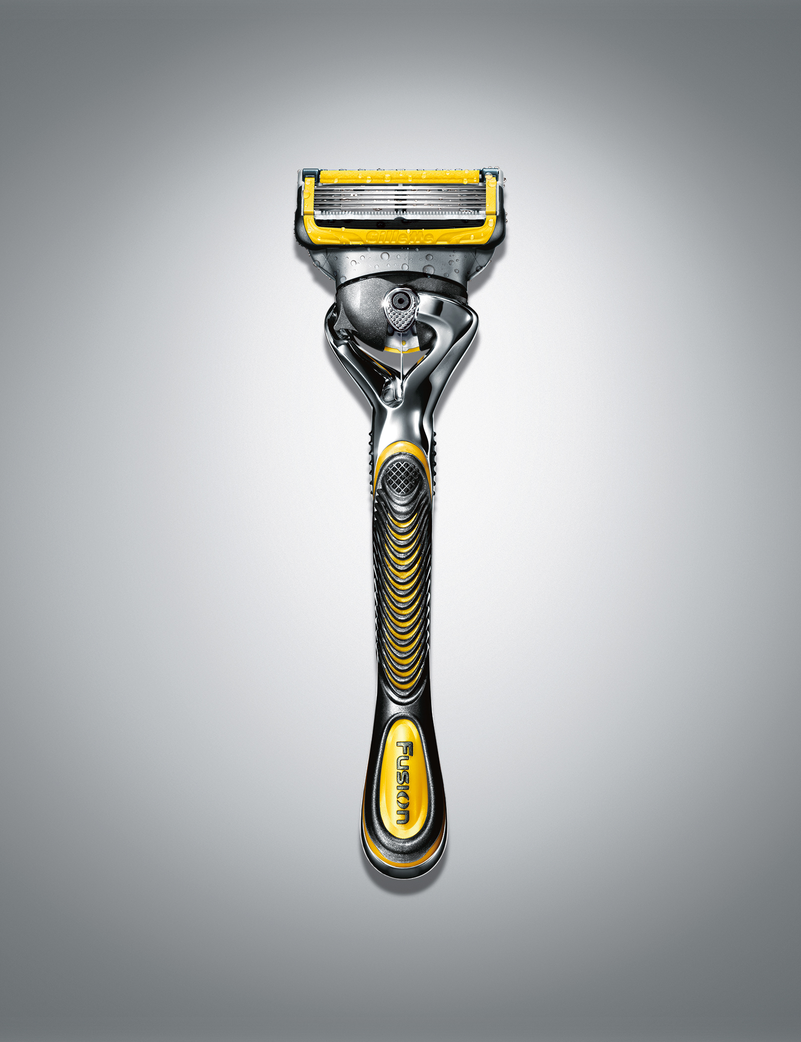 Gillette Launches New Fusion® ProShield™ with Lubrication Before and ...
