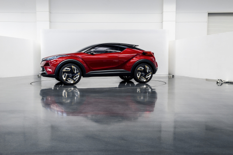 Scion debuted its C-HR Concept at the 2015 Los Angeles Auto Show. (Photo: Business Wire)