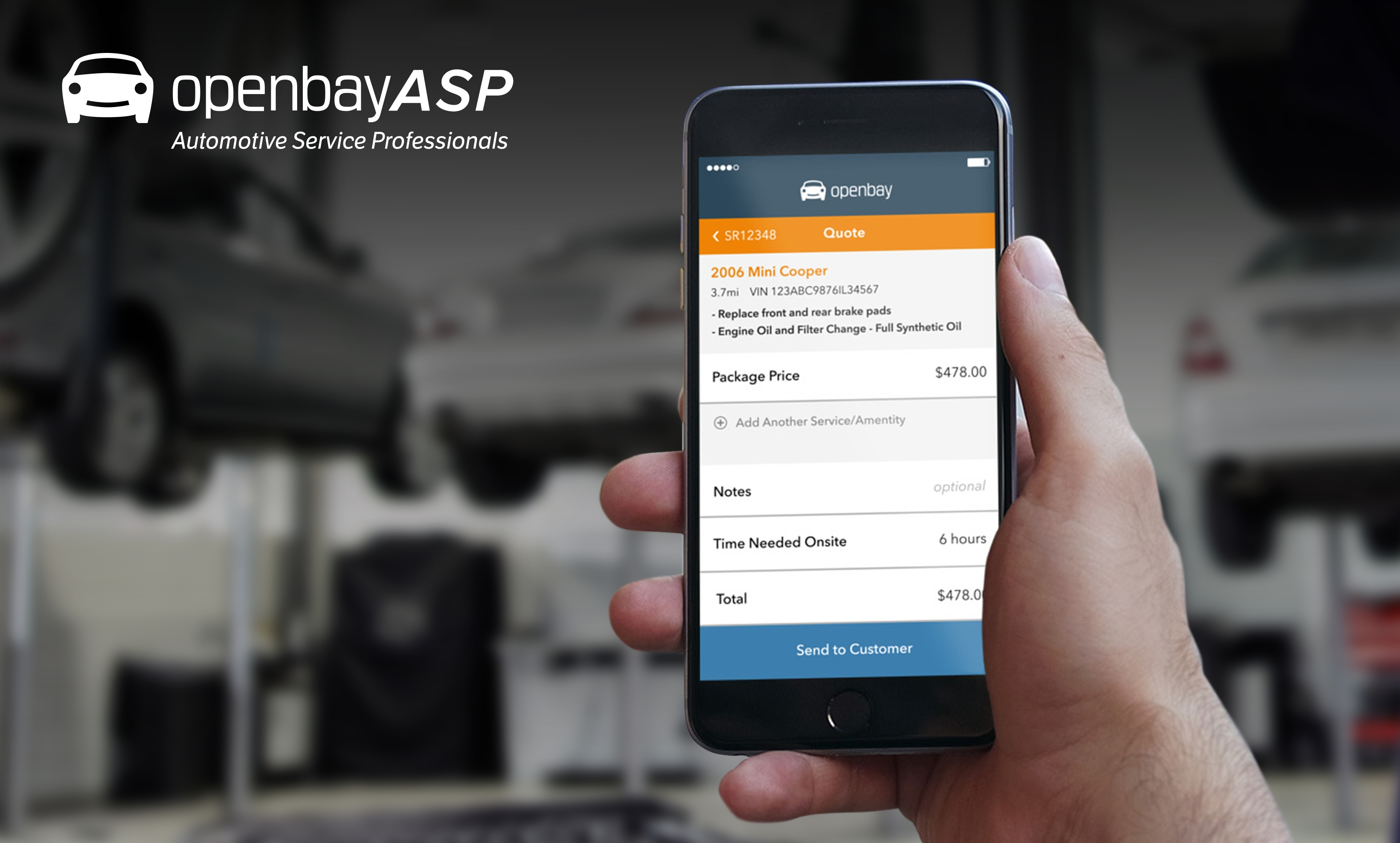 Openbay Debuts OpenbayASP, Mobile Platform for Automotive Repair ...