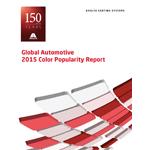 Axalta Global Automotive 2015 Color Popularity Report