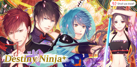 """The """"Shall we date?"""" series is now in your hand... even on Facebook! NTT Solmare proudly announces its release of """"Shall we date?: Destiny Ninja 2+"""" for Facebook. (Graphic: Business Wire)"""