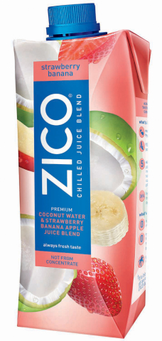 ZICO Introduces Strawberry Banana as Newest Addition to Line of Chilled Coconut Water and Juice Blends (Photo: Business Wire)