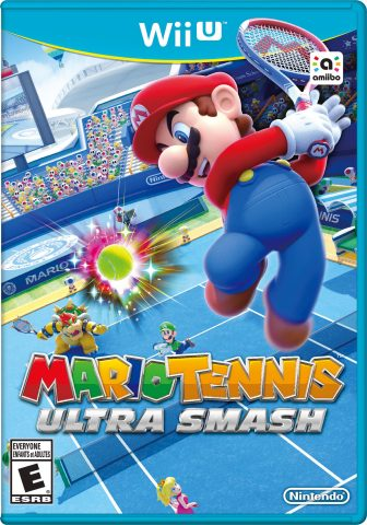 In the Mario Tennis: Ultra Smash game, launching for the Wii U console on Nov. 20, up to four players of all skill levels will be able to volley, slice and lob with some of Nintendo's most classic characters using some outrageous powered-up moves. (Photo: Business Wire)