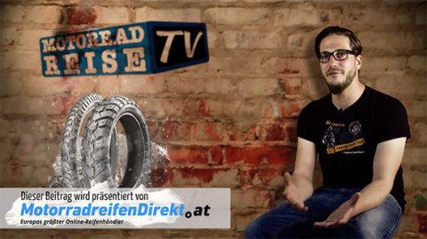 MotorradreifenDirekt.de und motorradreise.tv beantworten Fragen rund um Winterreifen für Motorradfahrer. Foto: Delticom AG, Hannover (Photo: Business Wire)