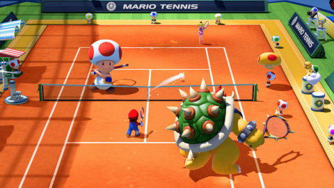 Mario Tennis: Ultra Smash will be available Nov. 20. (Photo: Business Wire)