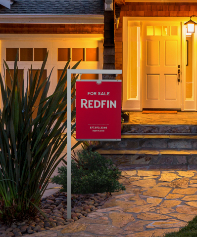 The New Redfin Yard Sign (Photo: Business Wire)