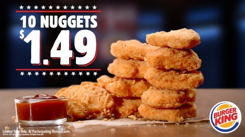 $1.49 CHICKEN NUGGETS ARE BACK AT BURGER KING® RESTAURANTS (Photo: Business Wire)