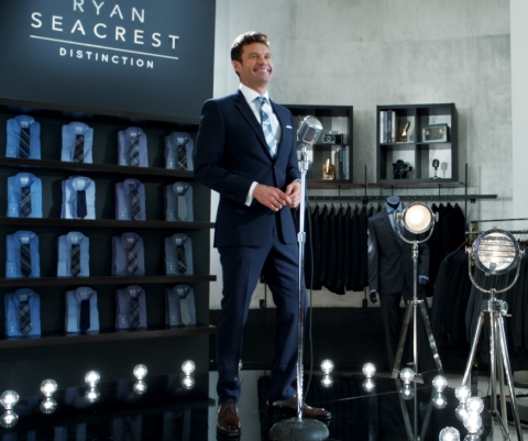 Macy's stars, including Ryan Seacrest, prep for one of the biggest shopping events of the season in Macy's new Black Friday commercial. (Photo: Business Wire)