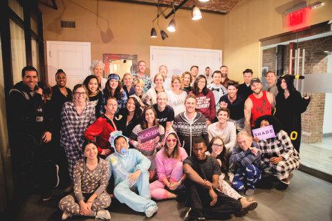 inVNTrs celebrating Global Pajama Day (Photo: Business Wire)