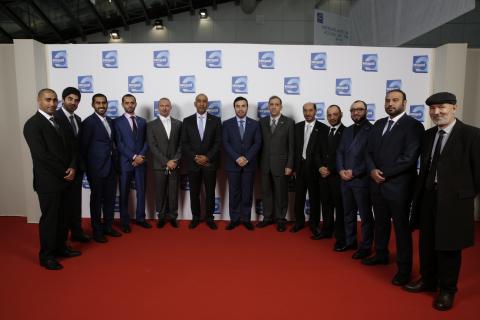 UAE MoI Delegation Group Photo at Milipol Paris 2015 (Photo: ME NewsWire)