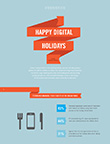 Dreaming of a Digital Holiday Infographic, Sequence 2015