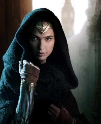 GAL GADOT as Wonder Woman, photo by Clay Enos (Photo: Business Wire)