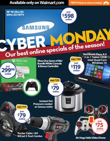 Walmart's Cyber Monday 2015 Ad