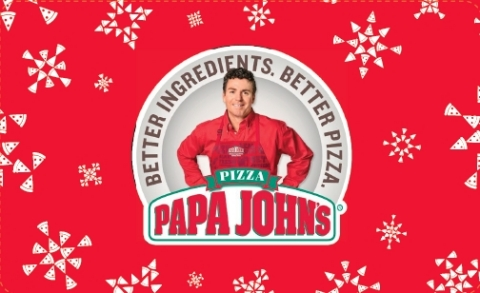 Papa John's Holiday Card (Graphic: Business Wire)