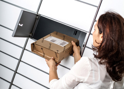 Packcity Intelligent Parcel Lockers make package deliveries secure, reliable and convenient. (Photo: Business Wire)