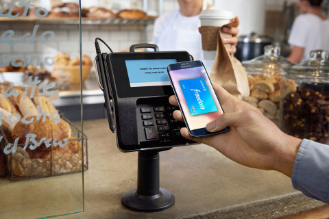 Chase Visa cardmembers can now use Samsung Pay. (Photo: Business Wire)