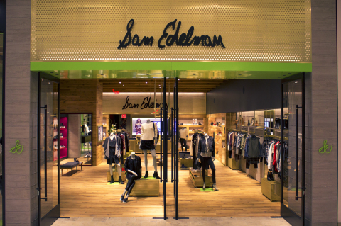 Sam Edelman opens store in Valley Fair Mall in Santa Clara, Calif. (Photo: Business Wire)