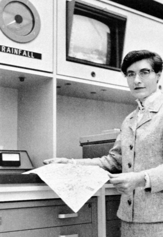 Margaret Mooney was a pioneering meteorologist at PG&E. She worked for the company from 1966 to 1994. In her honor, PG&E presented the first Margaret Mooney Award for Innovation to three teams of employees at a recent ceremony. (Photo: Business Wire)
