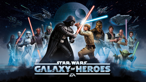 STAR WARS™: GALAXY OF HEROES NOW AVAILABLE FOR MOBILE FROM EA (Graphic: Business Wire)