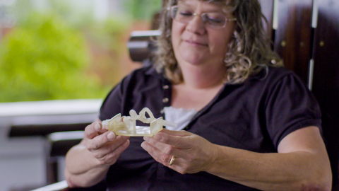 Realistic Stratasys 3D Printed Model Guides Surgeons to Successful Treatment of Near-Fatal Brain Ane ...