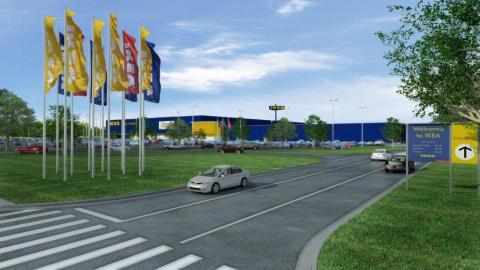 Swedish home furnishings retailer IKEA secures contractors for Memphis store opening Fall 2016 as first IKEA store in Tennessee (Photo: Business Wire)