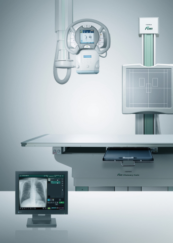 Fujifilm's FDR Visionary Suite, a next generation Automatic Positioning Digital Radiographic X-ray Room System.