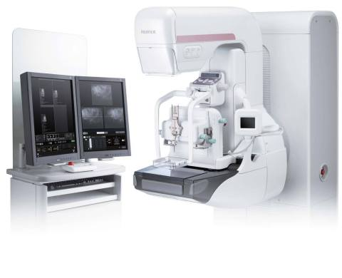 Fujifilm's Aspire Cristalle mammography system (Photo: Business Wire)