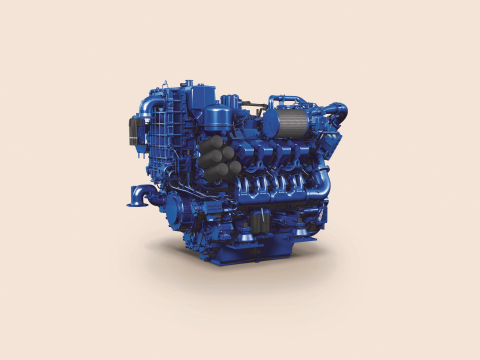 The EPA Tier 3 certified MTU 8V 4000 Ironmen marine engine will be on display at the upcoming International Workboat Show 2015 in New Orleans. (Photo: Business Wire)