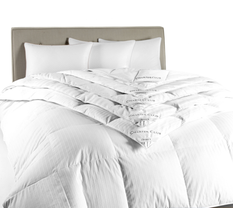 Find incredible Cyber Monday deals on macys.com Sunday, Nov. 29 and Monday, Nov. 30 including 60 percent-70 percent off comforters. (Photo: Business Wire)