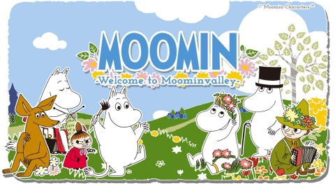 Moomin App Key Visual (Graphic: Business Wire)