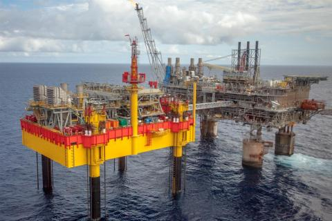 Fluor's Shell Philippines Exploration Malampaya Phase 3 (MP3) Project (Photo: Business Wire)