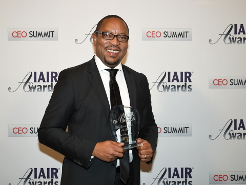 Mr. Mothobi Seseli awarded IAIR CEO of the Year 2015 (Photo: Business Wire)