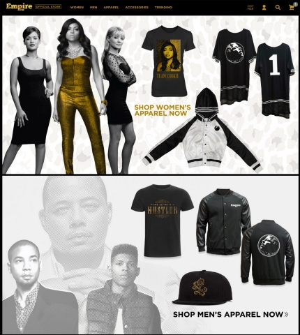 Empire Official Online Store (Photo: Business Wire)