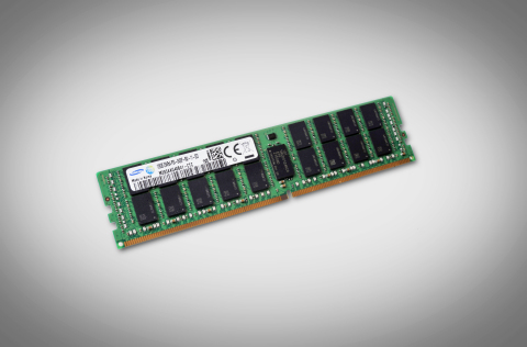 Samsung 128GB TSV DDR4 RDIMM now in mass production (Photo: Business Wire)