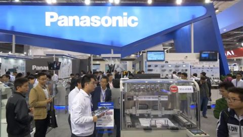 Panasonic booth at CIIF 2015 (Photo: Business Wire)