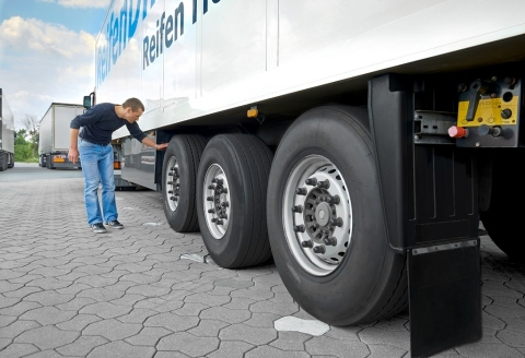 Safely and efficiently to your destination: Check your tyres for trucks especially in the colder tim ...