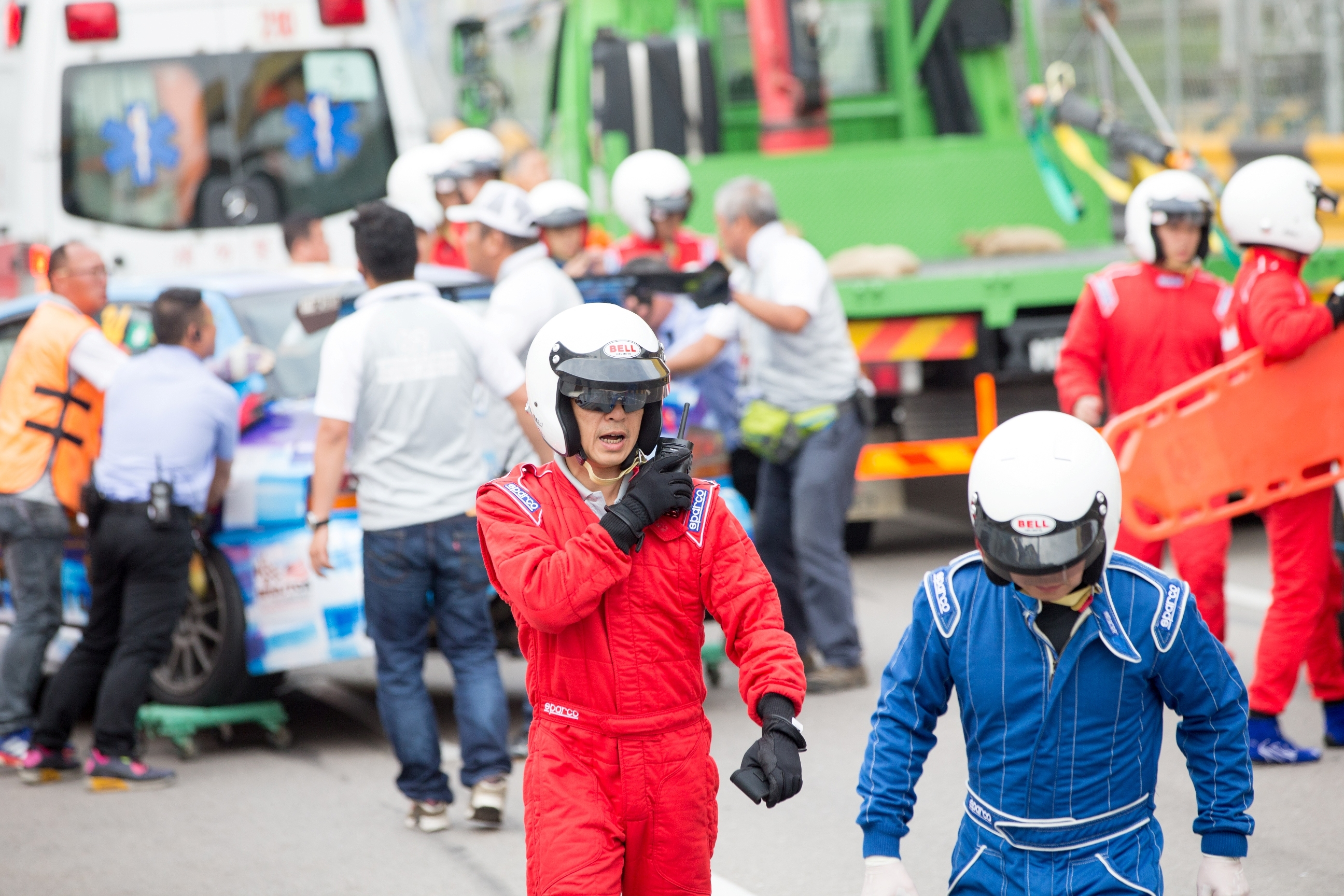 Hytera chosen as the official radio supplier in securing overall event operation for 62nd Macau Grand Prix (Photo: Business Wire)