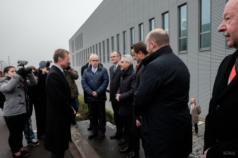 SES Inaugurates ATF and SOC in the Presence of HRH Grand Duke Henri (Photo: SES)
