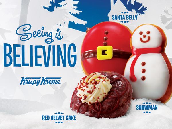 Krispy Kreme® Spreading Joy With an Assortment of Holiday Sweet ...
