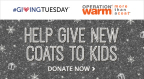 Groupon celebrates #GivingTuesday with Operation Warm to provide winter coats to families in need. (Graphic: Business Wire)