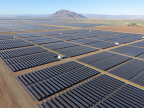 Fluor's Centinela Solar Energy project; 170-megawatt solar photovoltaic (PV) facility located on approximately 1,600 acres in Imperial County, California.(Photo: Business Wire)