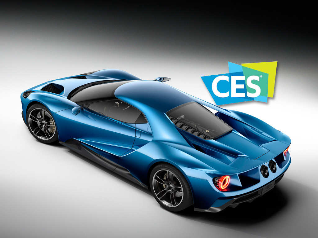 Ford Returns To Ces  With Ford Gt As Official Show Vehicle Business Wire