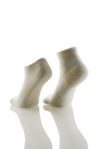 C3fit Paper Fiber Arch Support Short Socks (photo: right); C3fit Paper Fiber Ankle Socks (photo: lef ...