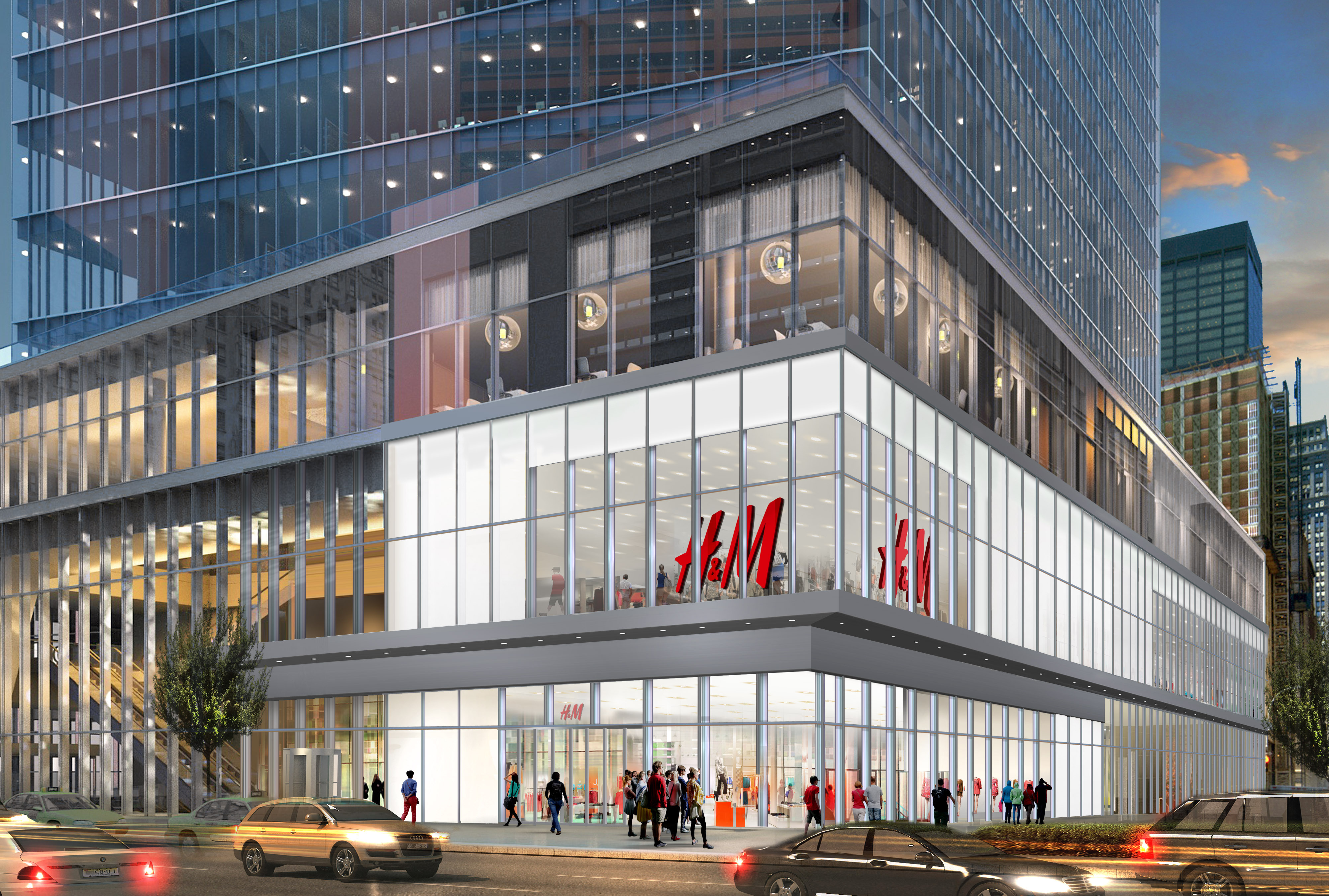 Get H&M In Manhattan New York Images